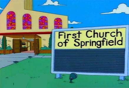 Iglesia protestante de Springfield